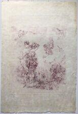 Rare Hans Bellmer Paysage 1900 Signed Surreal Landscape Women Surrealism 19/50