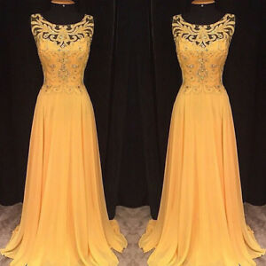 Women Formal Lace Long Ball Gown Prom Dress Wedding Party Cocktail Evening Dress