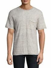 Rag & Bone Men's Tripp Double Layer T- Shirt Grey Sz XXL