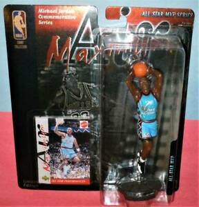 1999 MICHAEL JORDAN Chicago Bulls NM *FREE_s/h* Mattel Maximum Air #23 All Star