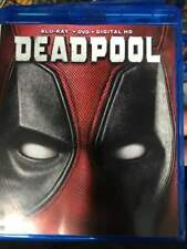 Deadpool Blu-Ray No DVD/Digital/Slip Like New FREE FAST Combine SHIPPING