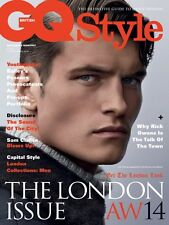 GQ Style British 19,John Todd Davild Bailey,Sam Claflin,Rick Owens,Max Irons