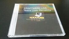 KRAFTWERK -2×CD  LIVE TEATRE LICEU BARCELONA-22.04.2015.VERY RARE!!!CDR!!!!!