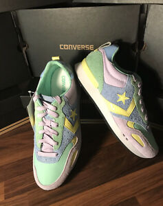 Ladies Limited Edition American Converse Malden Racer OX festival Trainer Size 6
