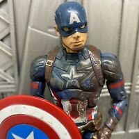 "Marvel Legends Hasbro Avengers Civil War Captain America Battle 6"" Action Figure"