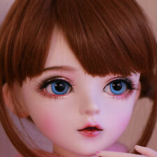 Cute 60cm BJD Doll 1/3 Girl Dolls + Free Face Makeup + Changeable Eyes + Wigs