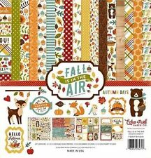 "ECHO PARK ""FALL IS IN THE AIR"" 12X12 PAPER KIT AUTUMN LEAVES SCRAPJACK'S PLACE"