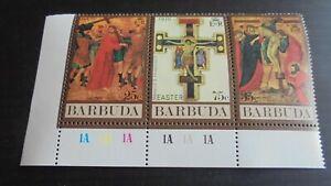 BARBUDA 1970 SG 80-82 EASTER MNH (A)