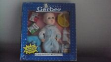 "Vintage 1991 11"" Gerber Baby Doll Drink And Wet With Accessories New In Box Nib"