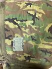 Genuine US Military Surplus USGI Woodland Camo Poncho Liner WOOBIE Blanket Exc