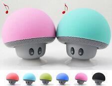 Portable Speaker   Mini Mushroom Bluetooth Speaker Stereo Bluetooth Waterproof