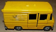 Siku Mercedes Benz L 406D Yellow Postal Van #1911 Germany