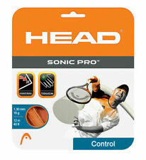 NEW Head Sonic Pro Orange16 G Guage Tennis String 40 foot Pack forty ft Set