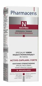 PHARMACERIS N Active-Capilaril Forte face cream, 30ml