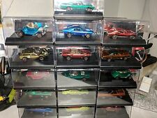 1968 Hot Wheels complete first year red line set, includes 16 display cases.