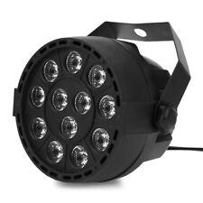 12 LED RGBW Stage DMX Light 8CH PAR Lighting Projector Party DJ Disco Lights 12W