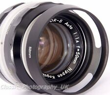 52mm Metal Lens Hood for Nikkor Pancake 1.8/50 NIKKOR 1:1.4 f=50mm Nikkor 28mm
