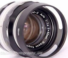 52mm Metal Lens Hood for Nikkor Pancake 1.8/50 NIKKOR 1:1.4 f=50mm Nikkor 28mm