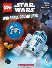 Epic Space Adventures [LEGO Star Wars: Activity Book with Figure]