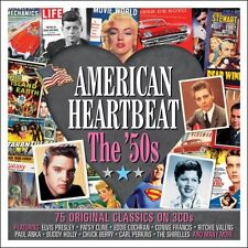 American Heartbeat - The '50s - 75 Original Classics (3CD) NEW/SEALED