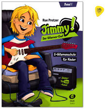 Jimmy! Der Gitarren-Chef Band 1 - E-Gitarrenschule - DUX - D3513 - 9783868493085