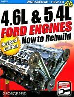 FORD SHOP MANUAL HOW TO REBUILD 4.6L 5.4L ENGINES REPAIR BOOK REID V8 SOHC DOHC