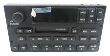 New OEM Ford Alpine Radio Cassette Player 99-02 fits Ford Expedition