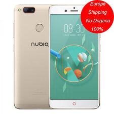 "5.2"" ZTE Nubia Z17 mini 4/64G Qualcomm SnapDragon 652 Octa Core 4G LTE NFC Oro"