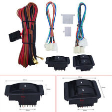 Universal Car Electric Power Window Switch Regulator & 12V Wire Harness Kits