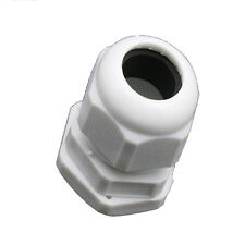 10pcs IP68 PG11  5-11mm Cable  Waterproof Nylon Plastic Cable Gland Connector