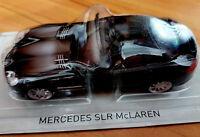 Mercedes SLR McLaren Nera - Scala 1:43 - DeAgostini - Nuova