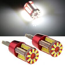 57SMD Canbus Error Free T10 501 w5w  LED Sidelight Indicator Light white 6000K