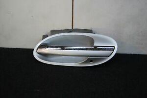 BMW E65 E66 Rear Left Door Outer Handle Comfort Access Titan silver 57191897