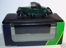 RARE ELIGOR CITROEN TRACTION AVANT 7CV CABRIOLET CAPOTE 1936 VERT FONCE IN BOX