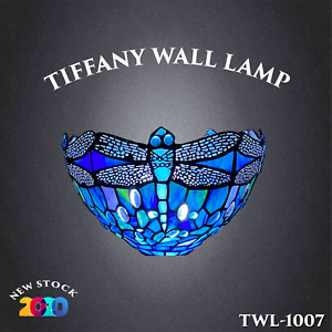 Unique Tiffany Style wall lamp Lamps Stained Glass Uplighter Handcrafted Light