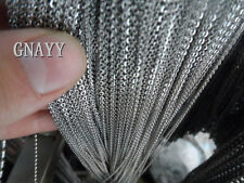 GNAYY 5meter Lot stainless steel Fashion Strong chain Jewelry Finding Marking