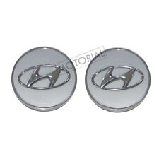 2009-2016 HYUNDAI ELANTRA Genuine OEM Wheel Center Hub Cap 2pcs