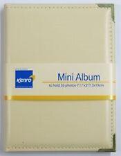 """Kenro Carlton Mini Ivory Photo Album - 7.5x5"""" Pictures Wedding apl151 iv"""