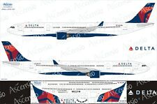 Airbus A330-300 1/144 Delta Airlines decal by Ascensio 333-004