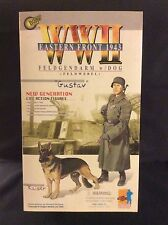 "DRAGON ""GUSTAV"" WWII EASTERN FRONT 1943 ACTION FIGURE WITH DOG 1:6 NIB"
