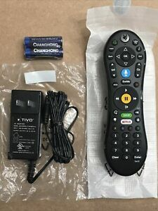 OEM Replacement Voice Remote + AC Adapter for TiVo MINI VOX ~ 4K UHD ~ TCDA95000