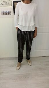 Pantalones De Mujer Negro Mango Compra Online En Ebay