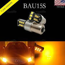 Error Free Yellow 7507 LED Bulbs For BMW 1 2 3 4 Series X3 X5 Turn Signal Lights
