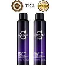 2 X OFFICIAL TIGI CATWALK ROOT BOOST LIFT AND TEXTURE SPRAY - 243ML EACH