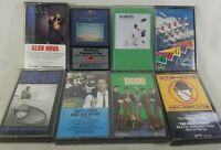 """Lot of 8 """"Pop"""" Genre Vintage Audio Cassette Tapes See Description See Pics!"""