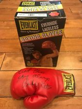 Everlast Boxing glove SIGNED BY Richie Kates AUTO With Box