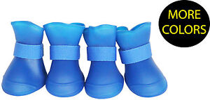 Elastic Protective Multi-Usage Waterproof Rubberized Dog Boots Shoes Booties