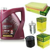 Inspektionspaket 5L MANNOL Energy CombiLL 5W30 Motoröl + MANN Filterset 10760446