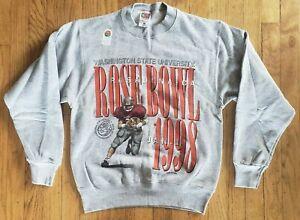 Vintage (1998) WASHINGTON STATE COUGARS Rose Bowl '98 NCAA Football SWEATSHIRT
