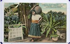 """Eine mexikanische """"criada"""", Haus Diener-Haushalt Arbeit dieser Frauen, Mexiko"""